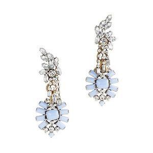 Lulu Frost for J. Crew crystal statement earrings